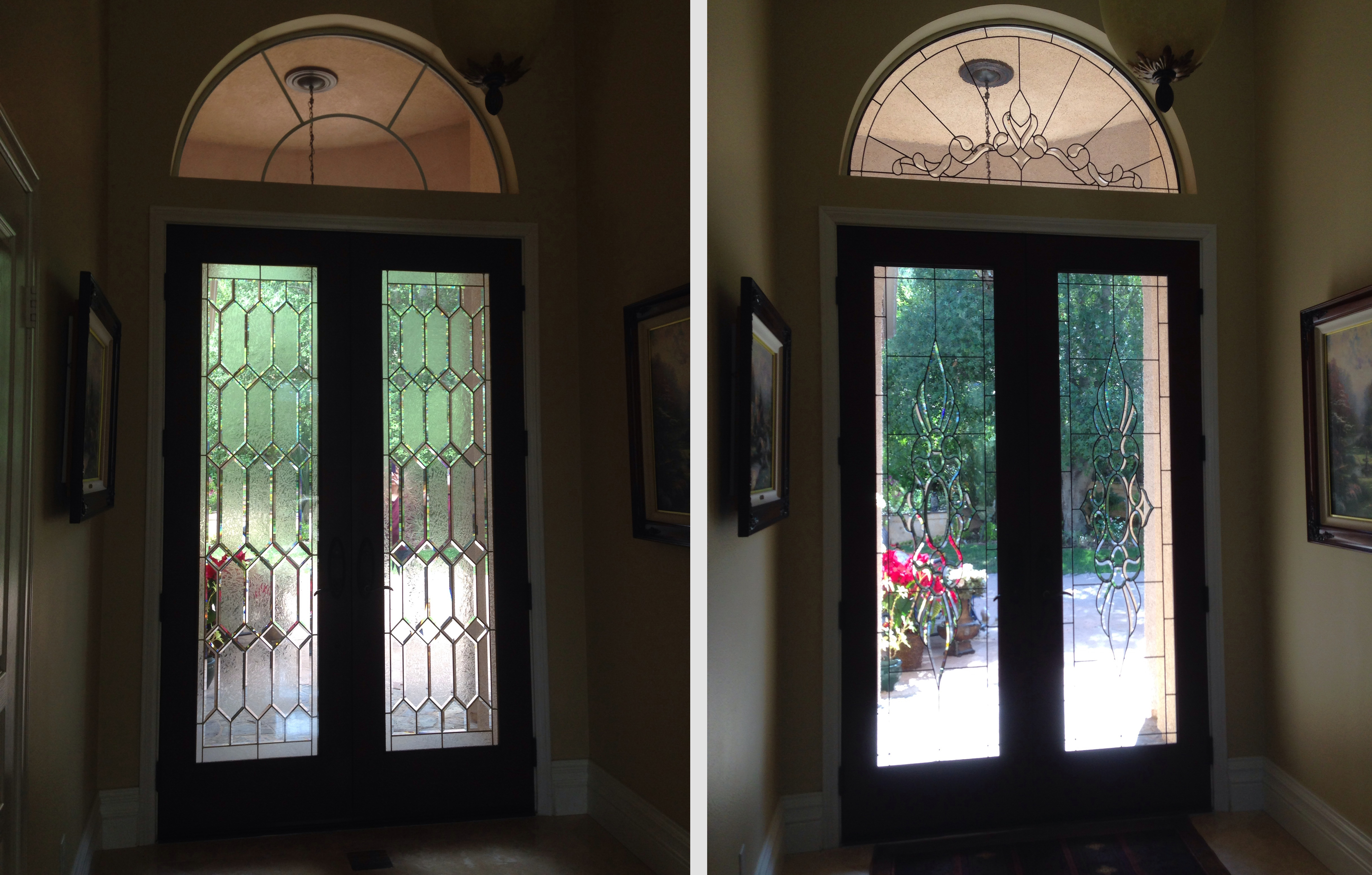 Antique stained glass doors - New Antique Beveled Glass Panels For Doors